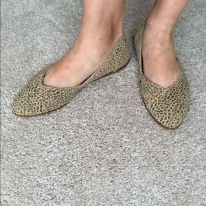 ca2e5315bf6 TOMS Shoes - TOMS Jutti Flat Cheetah Suede Printed