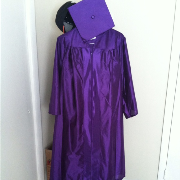 herff jones - Purple cap and gown from Allison's closet on Poshmark