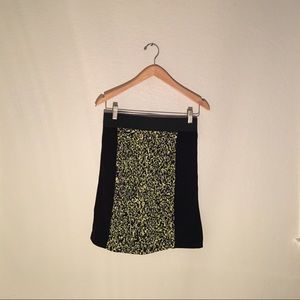 Cynthia Steffe skirt with pattern in the middle