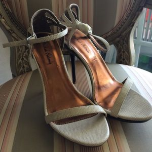 Size 7 Michael Antonio Heels in Nude