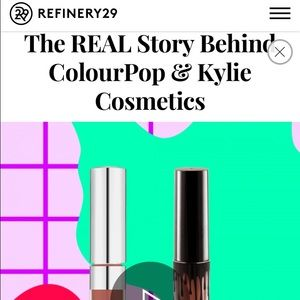 TRUTH 🌟 Kylie Lip Kit in Colourpop factory tour? NWT