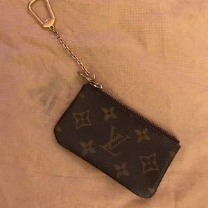 Authentic Vintage Monogram Louis Vuitton Key Cles