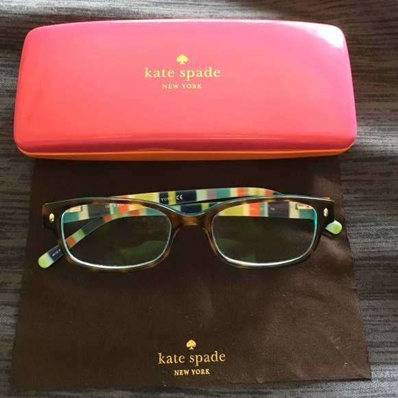 28c5c935bb kate spade Accessories - Kate Spade Lucyann tortoise shell glasses frames