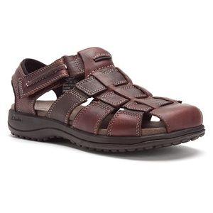 91d57c9514b Clarks Shoes - Clarks Men s Jensen Leather Sandals   Size  8