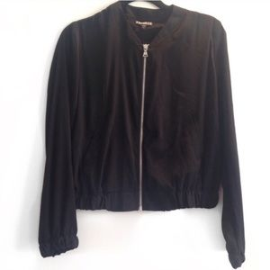 MOVING SALE❗️Soft Cotton Black Bomber