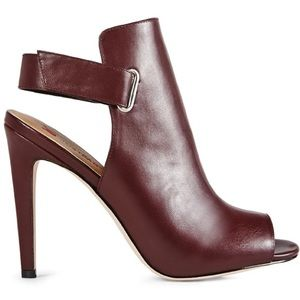 MOVING SALE❗️Burgundy Slingback Heels
