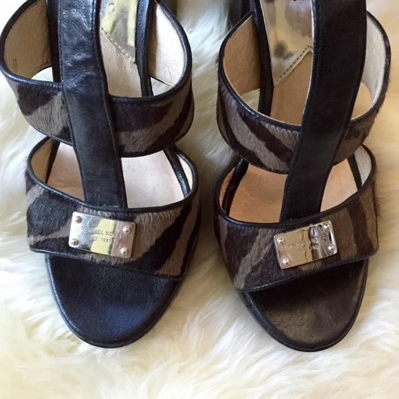 MICHAEL Michael Kors Shoes - Animal Print Sandals | Michael Kors