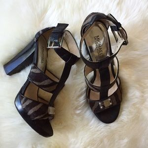 Animal Print Sandals | Michael Kors