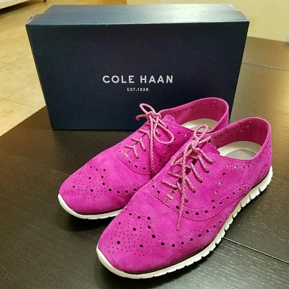 Womens Shoes Cole Haan Zerogrand Wing Oxford Wild Aster
