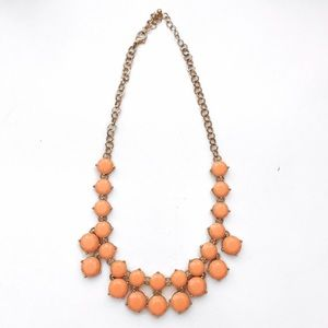 Orange / Coral Summer Necklace