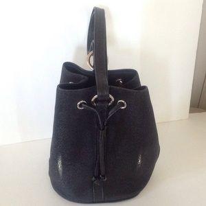 "Stingray ""Pearl Eye"" Gorgeous bucket purse"