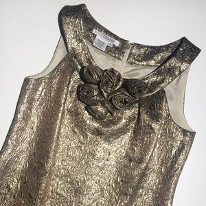 Maggy London Dresses & Skirts - ⚜ Maggy London Metallic Dress