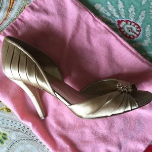 Nine West Gold Janika Shoe