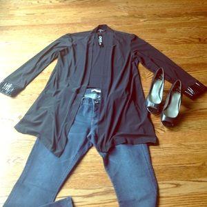 Onyx Sweaters - FLAS SALE NWT ONYX Nite Open Front Cardigan