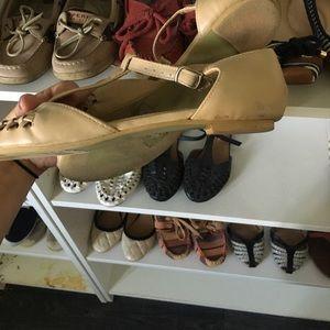 Shoes - Oatmeal Boho Sandals