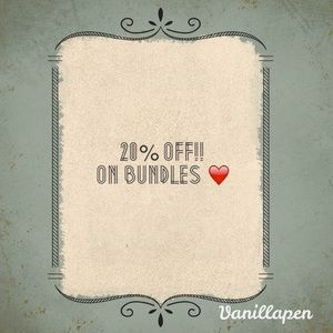 Bundle and save!❤️❤️❤️