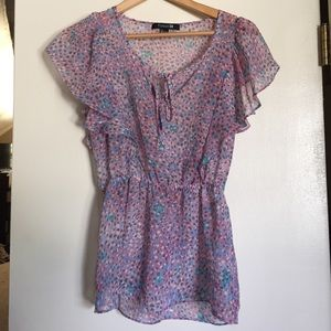 Forever 21 Tops - Flowy polka dot top