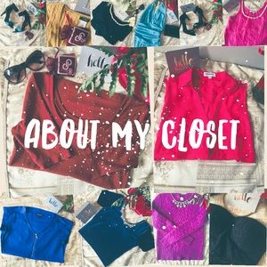 💕Welcome To My Closet