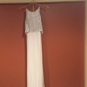 Aidan mattox beaded gown size 6 worn once. Love