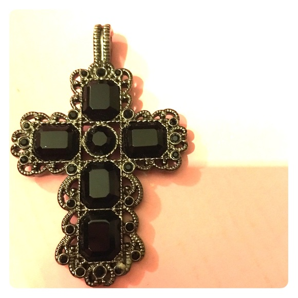 82 off premier designs jewelry cross pendant from for Premier jewelry cross ring