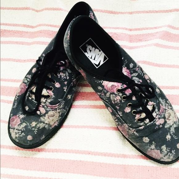 rose bud vans shoes