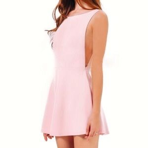 Dresses & Skirts - *NEVER WORN* Pink skater style dress