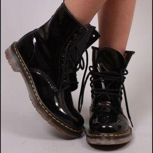 Dr.Martens Black Patent Boots