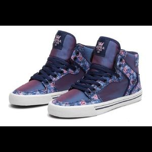 Supra  Shoes - Floral Supra Kicks.