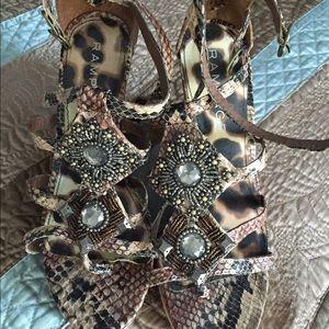 Rampage Shoes - ANIMAL PRINT WEDGE