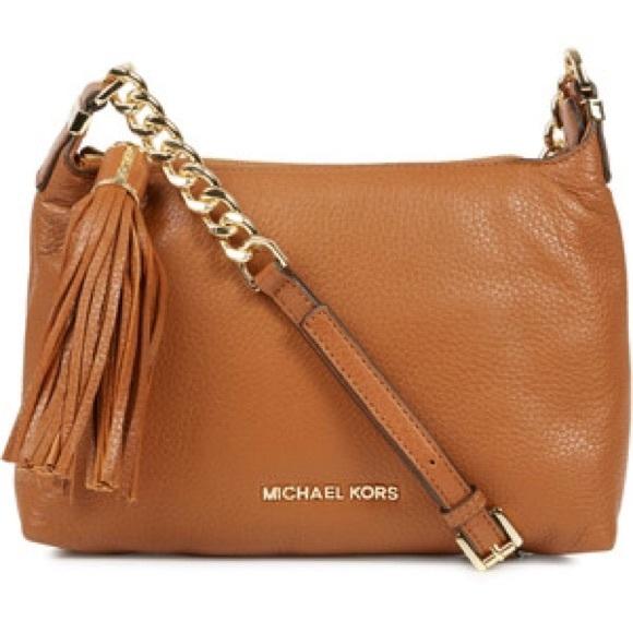 79214d792bc0 Michael Kors Weston grained leather crossbody bag.  M 5748fadeb4188ed86600b2df