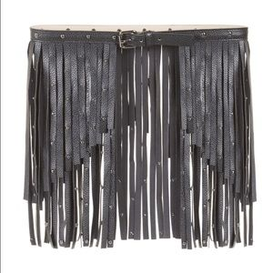 70 bcbgmaxazria accessories new bcbg fringe studded