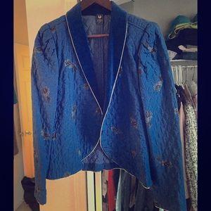 Jackets & Blazers - Amazing Royal Blue Vintage Blazer