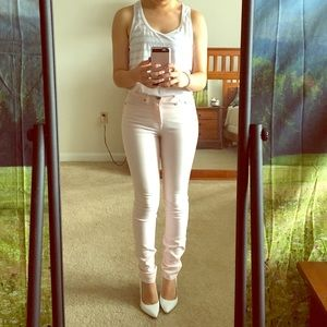 Urban Outfitters Pants - BDG High Waist Pink Jeans