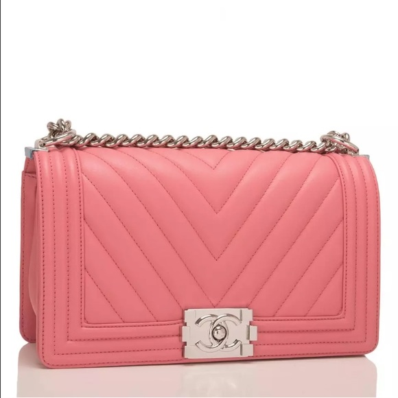 1a48853a94c699 CHANEL Bags | Medium Chevron Boy Bag | Poshmark