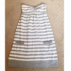Hollister Dresses & Skirts - Hollister Strapless dress/cover up