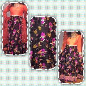 Dresses & Skirts - Beautiful floral Indian gown