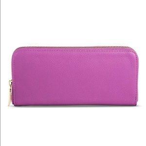 Women's MERONA Solid Zip Around Wallet