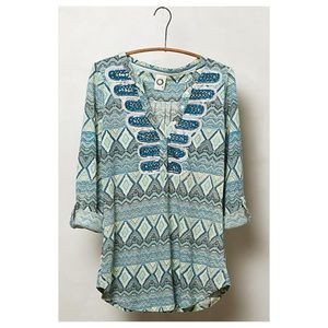 Anthropologie Octillo Top