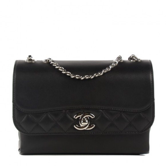 d65b2c19334 CHANEL Bags   Mini Tramezzo Flap In Black   Poshmark