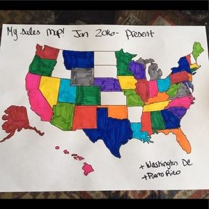 Just added New Mexico! 44 states + territories!