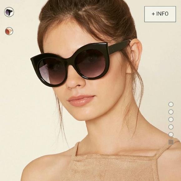 367dcdce534 Cat eye sunglasses Forever 21