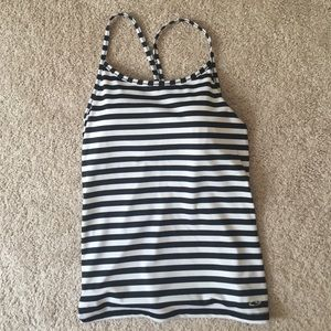 Champion Tops - Champion Striped Strappy Workout Tank