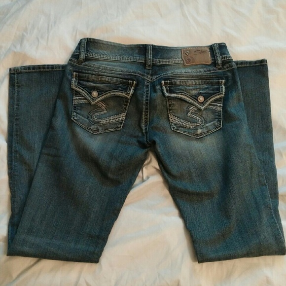 Silver Jeans - **SOLD**Silver Jeans Size 32 Dawson Flap from