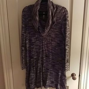 Kensie Cowl Neck Sweater Dress M