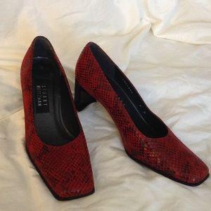 Stuart Weitzman Shoes - 🔥STUART WEITZMAN REPTILE PRINT PUMP