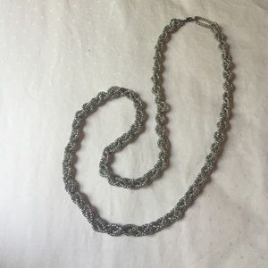 Jewelry - silver colored necklace
