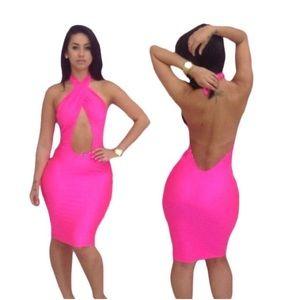 Sexy club wear dress