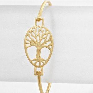 Farah Jewelry Jewelry - 14k Gold Tree Of Life Bracelet