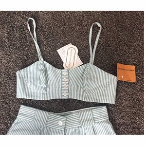 NWT Amazing, vintage two piece matching set
