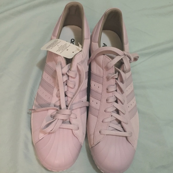 Adidas Mi Superstar Women's Custom Mauve Sneakers